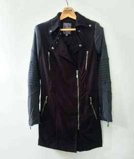 Guess Zipper Black Jacket