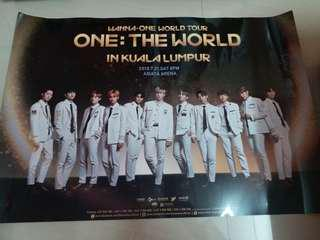 Wanna One World Tour Poster
