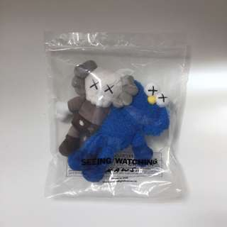 "Kaws Seeing/Watching 5.5"" keychain"