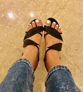 Sergio Rossi sandals heel size 36.5
