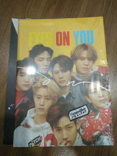 GOT7 EYES ON YOU TAIWAN PRESS ALBUM ONLY