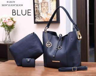 Michael Kors Tote Bag 3 in 1 Blue