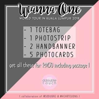 Wanna One World Tour in KL Fankit 2018