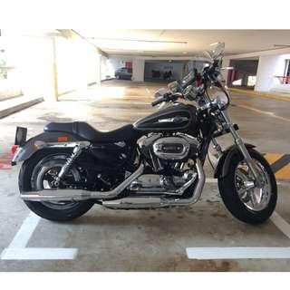 Keyless 2015 Harley Sportster 1200 Custom