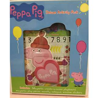 peppa pig deluxe activity pack