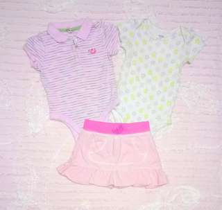 """Old Navy, Carter's, & Roots73"" Onesies and Skirt Bundles"