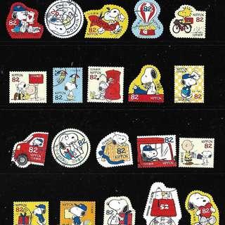 2017年 日本信銷郵票 G153 春季的問候82円 4全