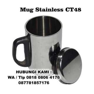 Mug Stainless Steel / Mug SS CT 48