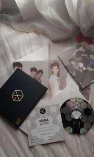 (preloved) Album EXO - MAMA (Chinese Ver.)