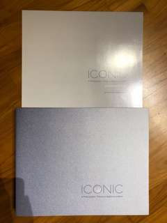 ICONIC hardcover book