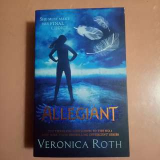 Novel Veronica Roth - Allegiant