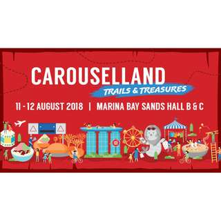 Sharing of booth stall at Carouselland 2018 (11 & 12 Aug 18)