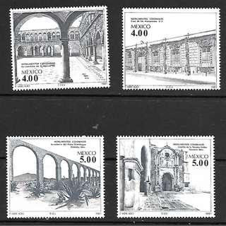 墨西哥1981殖民時期建築遺產4全新