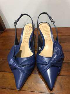 Schutz strapped pumps dark blue