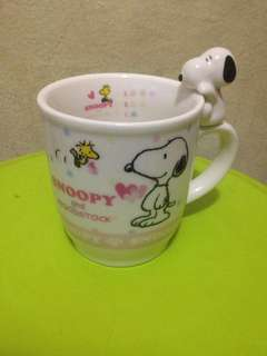 Snoopy and woodstock mug