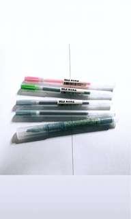 🚚 preloved muji pens + highlighters
