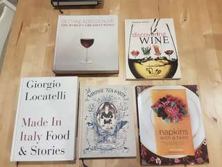 Wining and Dining books