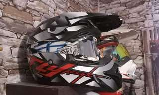 FLY HELMET OFF ROAD MOTARD MOTOCROSS