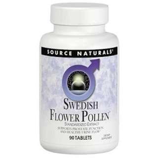 Source Naturals, Swedish Flower Pollen, 90 Tablets