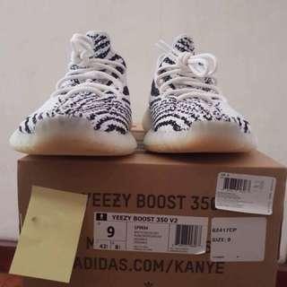 Authentic Yeezy Boost 350 V2 Zebra
