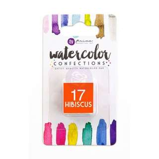 Prima Watercolor Confection Refills - Hibiscus 17
