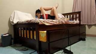 Pull out single bed