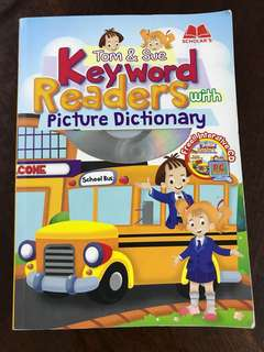 Tom & Sue Keyword Readers with Picture Dictionary