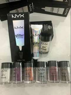 Nyx glitter highlighter eyeshadow