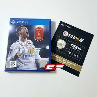 PS4 FIFA 18 +FREE FUT CODE