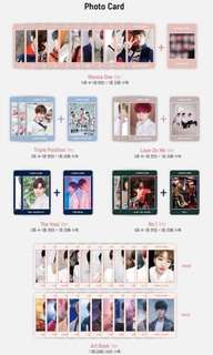 WTB GROUP PC WANNA ONE UNDIVIDED