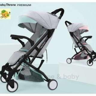 Baby Throne Stroller - Premium