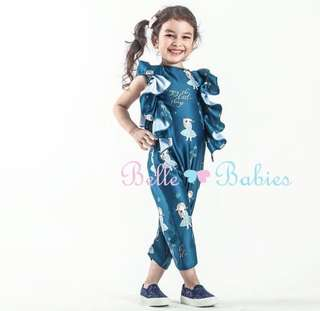BBD ruffled jumpsuit