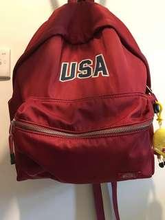 Dickies USA crimson backpack / school bag 袋 背囊