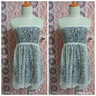 Lace black inside dress