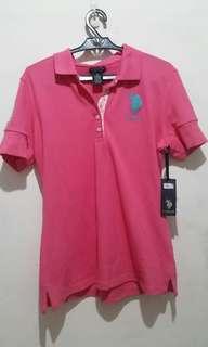 USPA Pink Polo Shirt (Authentic)