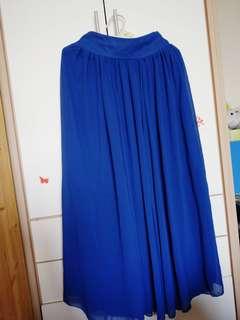 🚚 氣質雪紡長裙
