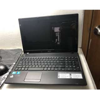 Acer aspire 5742G 15.6 inces