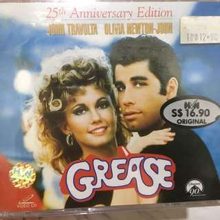 Sealed Grease 2 video CDs