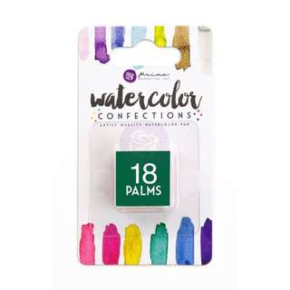Prima Watercolor Confection Refills - Palms 18