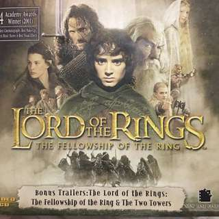 Lord of the rings 3 video cds