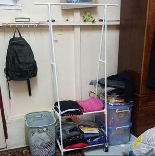 Korean DIY Wardrobe Storage Stainless Steel Rack