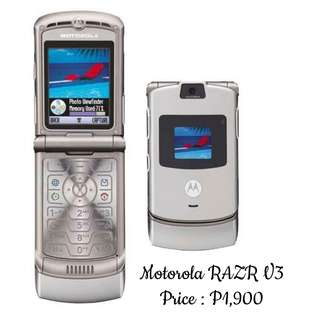 Refurbished Motorola V3