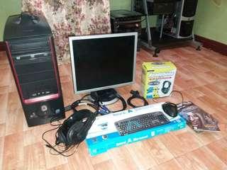 Complete computer set
