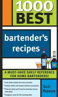 Ebook 1000 best bartender's recipes