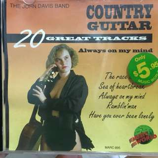 Country guitar cd