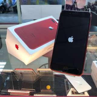 iPhone8 Plus 256G 限量紅 保固至2019.5.27