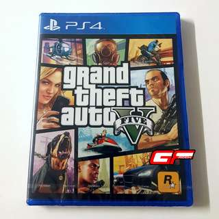 PS4 GTA V GRAND THEFT AUTO V