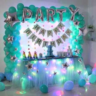 Surprise Birthday Party Event Deco Styling Setup
