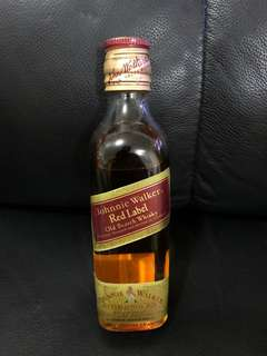 Johnnie Walker Red Label Old Scotch Whisky(20年酒) 18.75cls