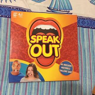 speak out challenge